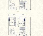 复式公寓05单元建筑面积约44㎡