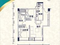 西江新城 一手楼盘 云山公馆 小户型65方2房 70年产权住宅 免过户费中介费
