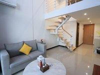 西江新城 复式公寓 精装修1房1厅1卫 家私家电齐全 小区管理 租1000