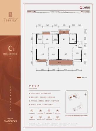 西江新城 名校旁 格局方正 双阳台南北对流 主阳台南向望花园4房