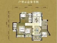 西江新城,东湖洲小四房单位,南北对流毛坯,随时约看