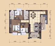 A1、A2、B1、B2栋05户型建筑面积约98㎡