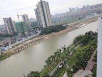 尚品蓝湾 一线秀丽河景 4房2厅3卫 带私家平台花园110万 马上交易