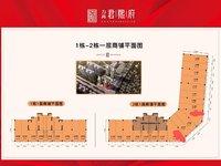 西江新城 一线黄金街铺 买一层送一层 适合多种业态 单价低至18888元!