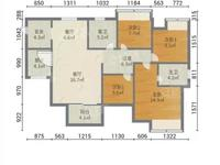 出售水岸华庭4室2厅2卫110.49平米75万住宅