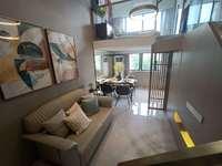 明信华府有产权的公寓 楼层高可做2房 月供几百即可入住 随时约看