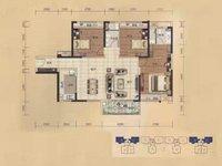 西江新城出售美的 东区3室2厅2卫125平米毛坯127万