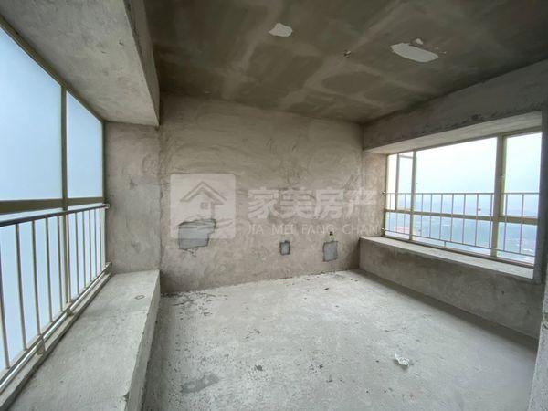 君御海城 中间楼层望江单位 超长阳台 毛坯超大3房 南北对流 够2年
