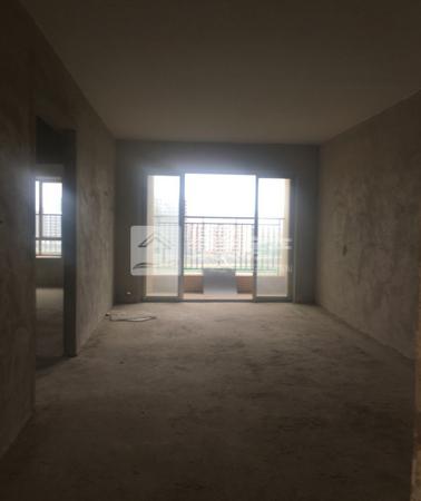 三洲 水岸华庭 中楼层89方实用毛坯3房 阳台望向高明河 总价仅需58万