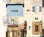 城区南向电梯两房,单价6字头,够两年过户费低,业主急售 仅售49万 钥匙在手