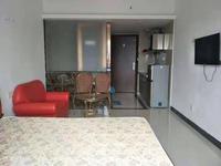 拉菲公馆 精装修34方1房1厅 户型方正 采光通透 家私电器齐全 月租1200元