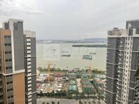 西江新城小迪拜毛坯复式6房,南向望江.上下两层半.天台可自用.三代同堂首选,