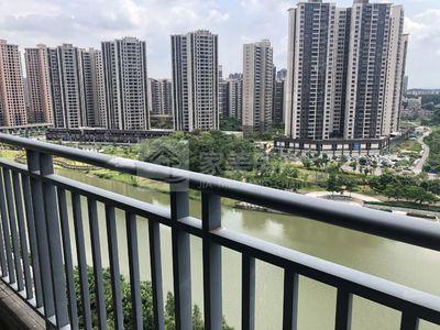 尚品蓝湾 秀丽河河景一流 满2年 无按揭状态 中高楼层 非顶楼 随时可以看房