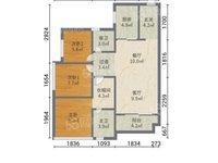 西江新城美的西海岸东区-新城学 区房-靓楼层三房毛坯-够两年税费低-正常首付