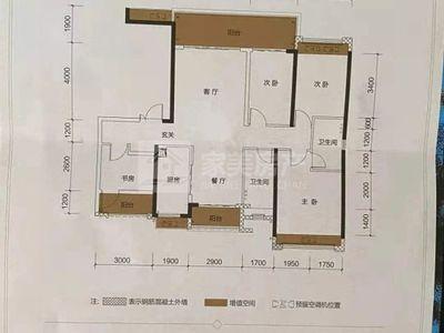 美的观澜府 141方四房 精装豪宅 南北对流 黄金楼层 超靓江景 200万