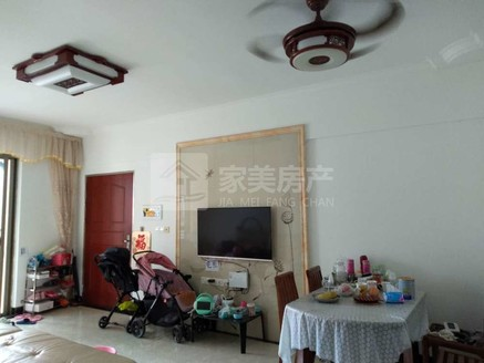 沧江路爱群大厦中层精装修三房带杂物房仅售45万,可直接入住!
